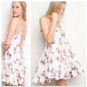Brandy Melville Floral Jada Dress Mini Oversized